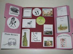 Westward Ho!  Little House on the Prairie Story Study Lapbook - Homeschool Share