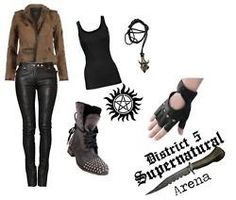 I found Arena outfit for female Supernatural tribute! I... on Wish, check it out!