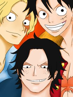 Sabo, Luffy, and Ace Awesome Anime, Anime Love, Mugiwara No Luffy, Ace Sabo Luffy, What Is Bitcoin Mining, One Piece Ace, One Piece Pictures, 0ne Piece, Anime Music