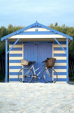 beach cabana #earnyourstripes