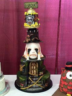 American Horror Story Cake
