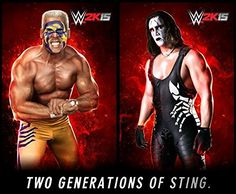 Amazing matches in WWE WWE is a company which is managing all types of wrestling matches. WWE stands for world wrestling entertainment and there are professionals working in this company. Ps4, Playstation, Wwf Superstars, Wrestling Superstars, Wrestling Stars, Wrestling Wwe, Sting Wcw, Epic Trailer, World Championship Wrestling