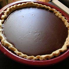 Granny's Cocoa Cream Pie ½ c. cocoa ¼ cup cornstarch/ (or ½ c. all purpose flour) 3 egg yolks 1 ½ c. sugar ¼ tsp. salt 2 c. milk 1 tsp. vanilla