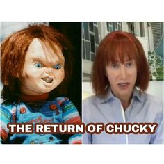 I heard Kathy Griffin had lots of plastic surgery. She needs to see if she can get a refund!!!