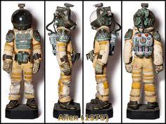 As worn by John Hurt in Alien (1979)