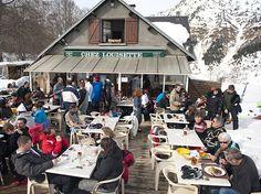 Schlemmerhütte im Schnee | BLEU, BLANC, ROUGE