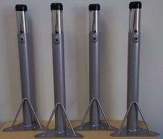 """Adjustable Height Table Legs (Set of 4) - Adjusts from 20"""" to 29"""""""