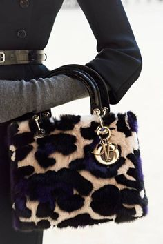 Lady Dior Leopard ♔Life, likes and style of Creole-Belle ♥ Lady Dior, Christian Dior, Dior Handbags, Purses And Handbags, Dior Bags, Dior Purses, Handbags Online, Designer Handbags, Designer Shoes