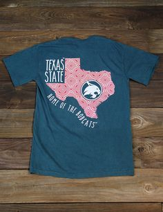 Don't you just love Texas State? It's home of the AMAZING Bobcats! Show your school pride in this new Comfort Color t-shirt! GO TXST BOBCATS!