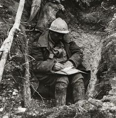 Letters Home? French Poilu Verdun 1916