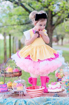Lala Loopsy Inspired Costume  Crumbs Sugar Cookie Dress