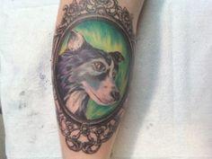 Best Friend portrait -by Graham Fisher of Hot Rod Tattoo in Blacksburg, VA