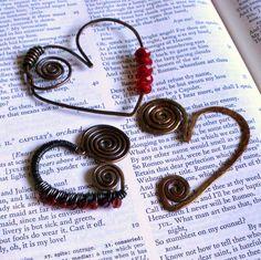 beautifully broken me: Versatile Valentine: Abstract Spiral Heart Pendant Tutorial