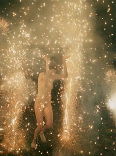 """Fourth of July!Ryan McGinley's image """"Hysteric Fireworks"""" is from… Larry Clark, Naive, The Desire Map, Image Mode, A Little Life, Digital Museum, Art Graphique, The New Yorker, Ethereal"""