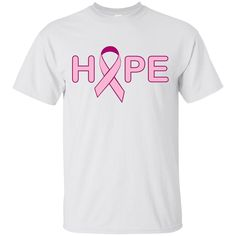 Hope - Breast Cancer, Men's Ultra Cotton Custom T-Shirt