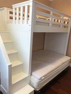 Pottery Barn Catalina bunk bed for Sale in Toms River, NJ - OfferUp Bunk Beds For Sale, Toms River, Full Mattress, Bed Room, Pottery Barn, Room Inspiration, Modern, Furniture, Home Decor