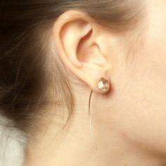 Rose Gold Bloom Earrings