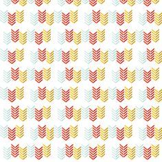 Multi-colored Chevron fabric by imeon on Spoonflower - custom fabric