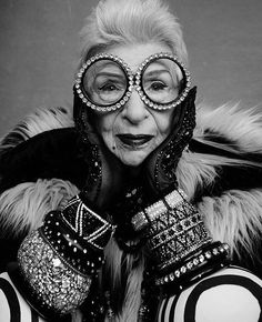 Iris Apfel | Fashion Jewelry | Fashion Jewellery | Accessories | Statement Earrings | Rings | Bracelets | Bangles | Cuffs | Necklace | Pendant | Personal Style Online | Online Fashion Stylist | Mom Boss | Fashion For Working Moms & Mompreneurs