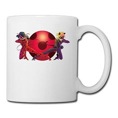 Cool Miraculous Ladybug Ceramic Coffee Mug, Tea Cup | Best Gift For Men, Women And Kids - 13.5 Oz, White >>> See this awesome image