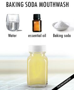 Keep Your Breath Fresh With 5 natural Homemade Mouthwash Recipes Homemade Mouthwash, Homemade Toothpaste, Bad Breath Remedy, Best Teeth Whitening, Oral Hygiene, Health Advice, Diy Beauty, The Cure, Health And Beauty