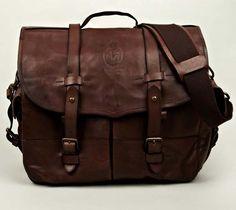 Polo Ralph Lauren Vintage Leather Messenger image
