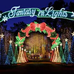 Callaway Gardens Fantasy of Lights 50% off admission deal via Groupon