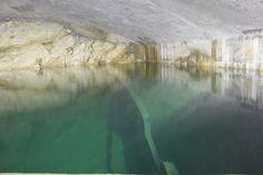 La sorgente Scirca Vasca principale di raccolta del sistema di captazione, è collegata ad una serie di vasche minori.