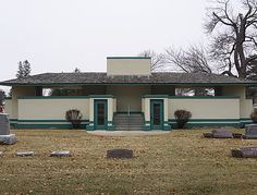 Pettit Memorial Chapel. 1907. Belvidere, Illinois. Frank Lloyd Wright