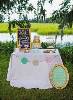 50 Out of this world dessert table ideas to inspire you! #weddingchicks http://www.weddingchicks.com/dessert-table-bonanza/