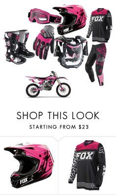 """""""Motocross Gear"""" by sonicskatergirl ❤ liked on Polyvore"""