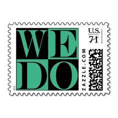 Love Large Weddings  Mint Stamp
