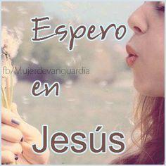 Espero en Jesús