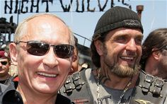 """The Night Wolves are Russia's largest motorbike club, with over 5,000 members. Fiercely patriotic, they believe that """"wherever the Night Wolves are, that should be considered Russia""""."""