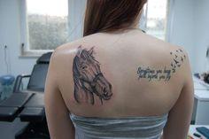 Tattoo Nr 4 (Mein verstorbenes Pferd)