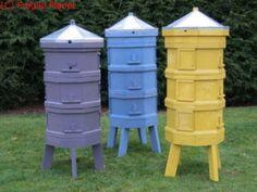 can't get enough of these octagonal hives!