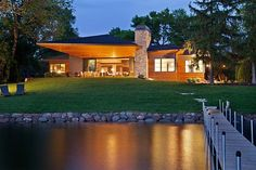 Gorgeous Views Of Lake Minnetonka From A Charismatic Residence