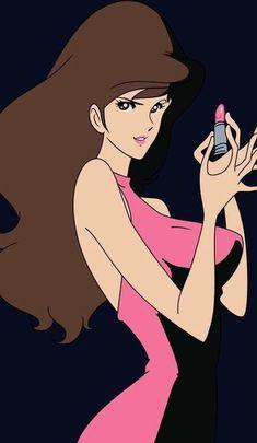 Lupin the Third Old Anime, Manga Anime, Anime Art, Character Illustration, Illustration Art, Lupin The Third, Japanese Video Games, Anime Girl Hot, Popular Anime