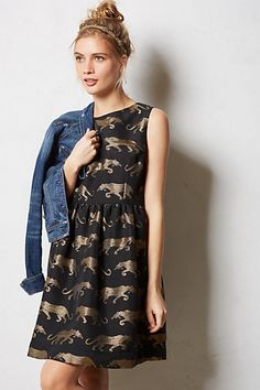Panthere Dress // Anthropologie