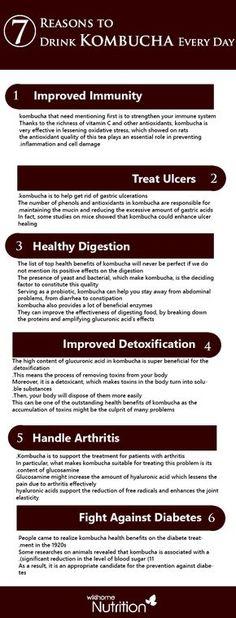 Kombucha: Nutrition Facts and Health Benefits