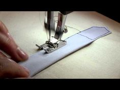 ▶ Sewing a Shirt Sleeve Placket Part 2 - YouTube