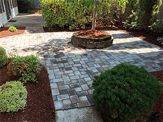 Patios reduce clutter and beautify any outside area