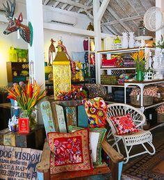 'Bungalow Living' shop & cafe in Canggu,  Bali. Indonesia. www.beyondvillas.com