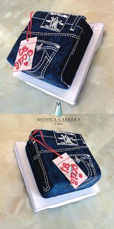 Pastel Jeans Monica Cabrera Cakes www.monicacabreracakes.com Puebla, México