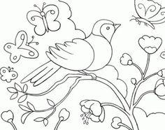 dibujos de naturaleza para colorear dibujos infantiles de