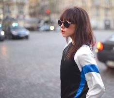 Paris Fashion Week aw15 - wearing Gestuz + Roc Eyewear