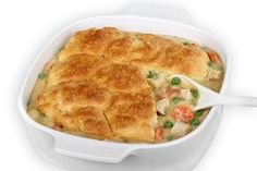 Chicken Pot Pie, Skinny-fied! Enjoy this fabulous, comfort food classic, guilt-free! Each skinny serving has only 266 calories, 6 grams of fat and 7 Weight Watchers POINTS PLUS! http://www.skinnykitchen.com/recipes/chicken-pot-pie/