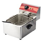 Commercial Electric Deep Fryer!  A countertop electric deep fryer is the perfect product for restaurants, food trucks, or concession stands that want to serve hot, fresh fried foods.