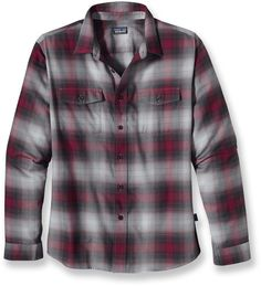 The Patagonia Buckshot flannel shirt delivers classic style and a whole lot of comfort.