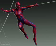 The Amazing Spider-Man concept art by Ed Natividad Spiderman Costume, Spiderman Movie, Batman, Amazing Spiderman, Western Comics, Concept Art World, Man Movies, Marvel Entertainment, Looks Cool